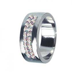Dámský prsten s Krystaly Swarovski Tribal RSSW01-CZAB