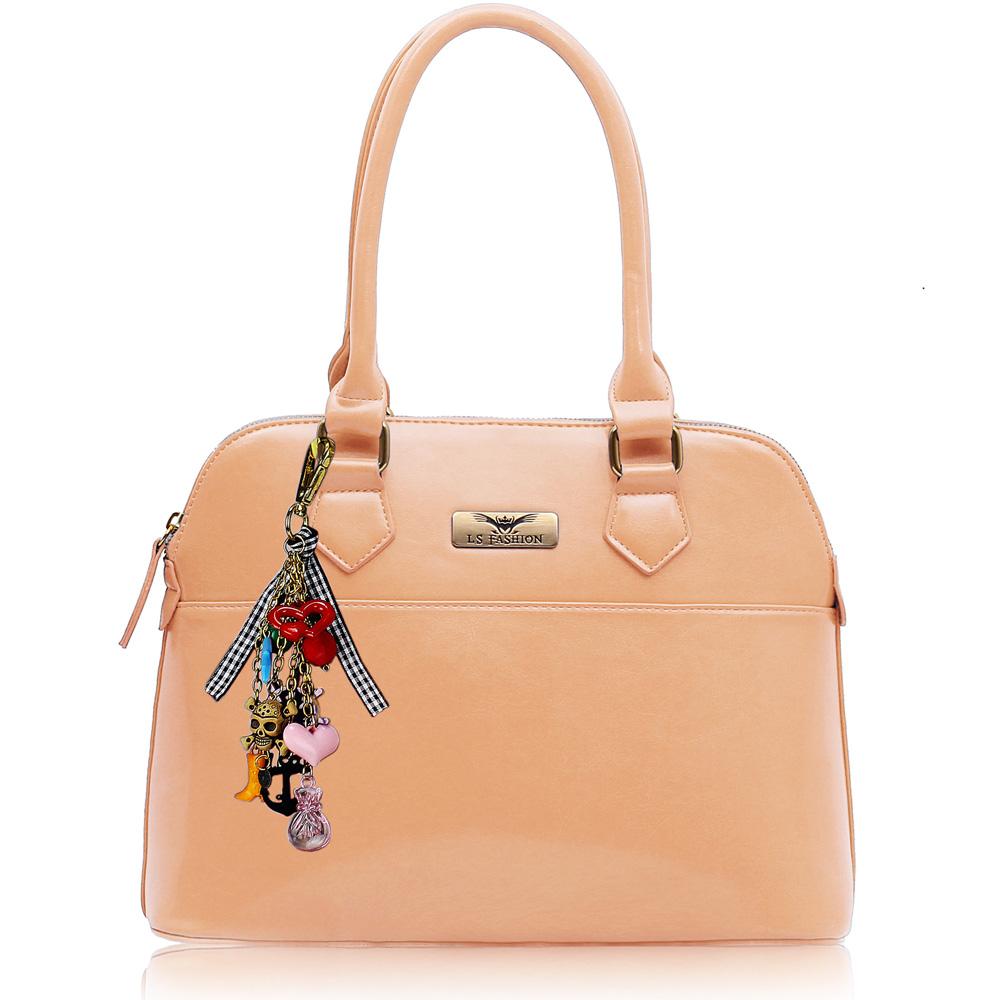 Kabelka LS6001A - Nude Tote Fashion Handbag