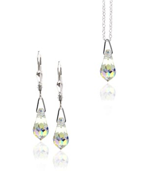 Souprava Swarovski briollete Crystal SW10 (Made with Swarovski® Elements)