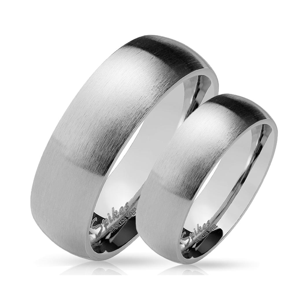 Snubní prsteny z chirurgické ocel R027S