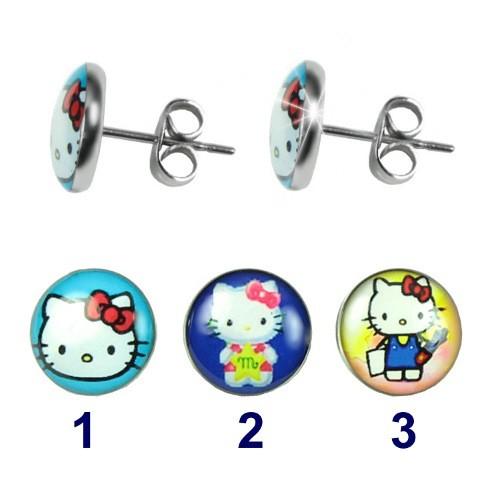 Náušnice Hello Kitty LJEG442