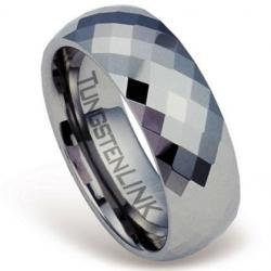 Wolframový prsten Tribal RTS27
