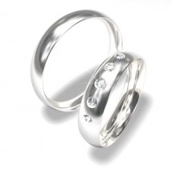 Luxusní Ocelové snubní prsteny 0140202054 (Luxusní Ocelové snubní prsteny 0140202054)