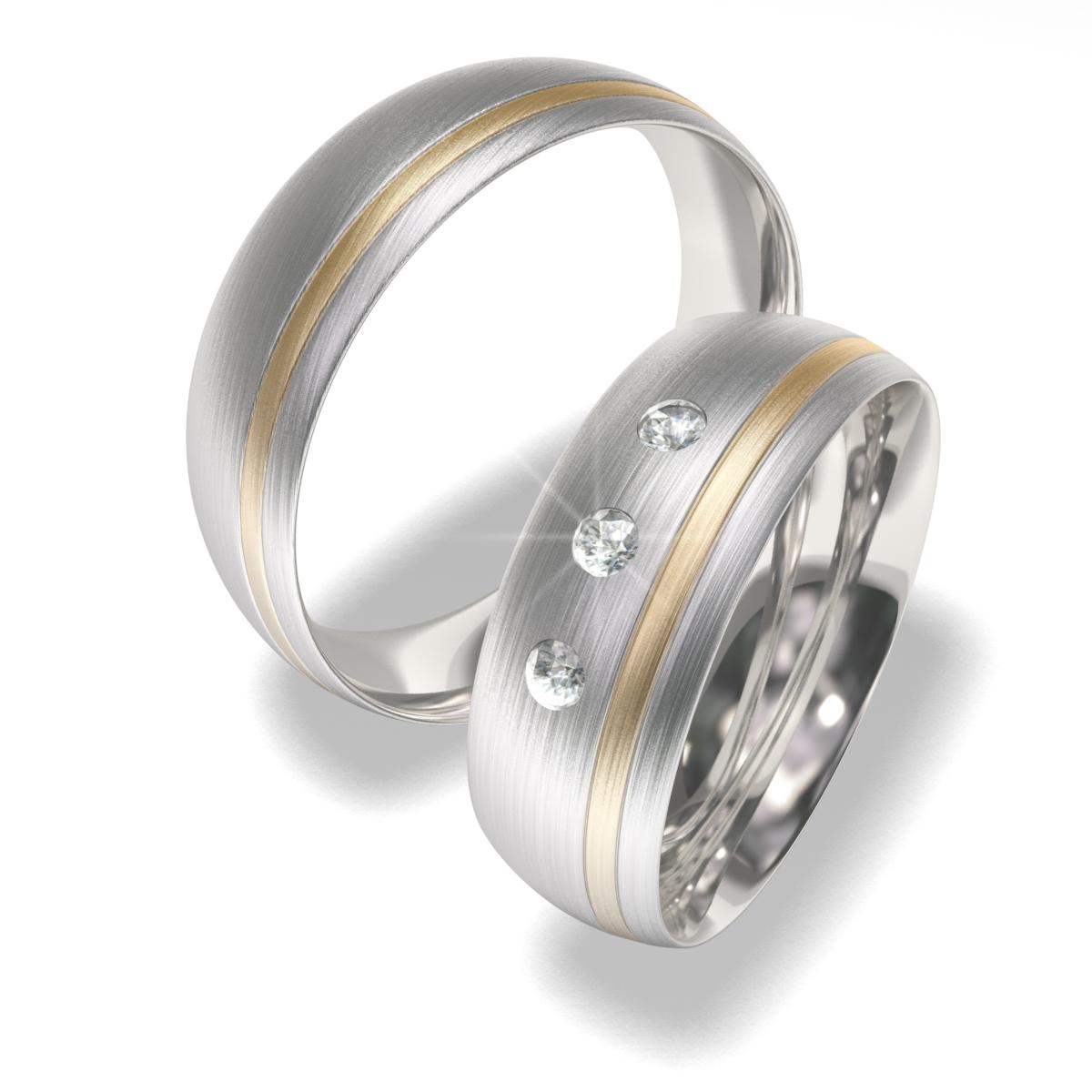 Luxusní Ocelové snubní prsteny 7022 (Luxusní Ocelové snubní prsteny 7022)