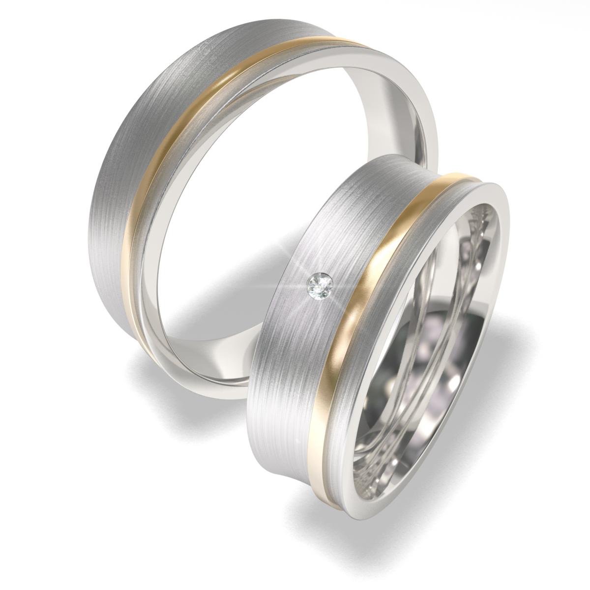 Luxusní Ocelové snubní prsteny 7089 (Luxusní Ocelové snubní prsteny 7089)
