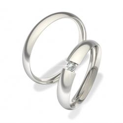 Luxusní Ocelové snubní prsteny 0140202006 (Luxusní Ocelové snubní prsteny 0140202006)