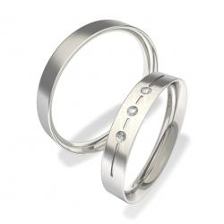 Luxusní Ocelové snubní prsteny 0140202135 (Luxusní Ocelové snubní prsteny 0140202135)