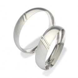 Luxusní Ocelové snubní prsteny 0140200038 (Luxusní Ocelové snubní prsteny 0140200038)