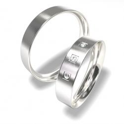 Luxusní Ocelové snubní prsteny 0140202150 (Luxusní Ocelové snubní prsteny 0140202150)