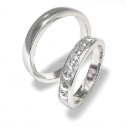 Luxusní Ocelové snubní prsteny 0140202159 (Luxusní Ocelové snubní prsteny 0140202159)