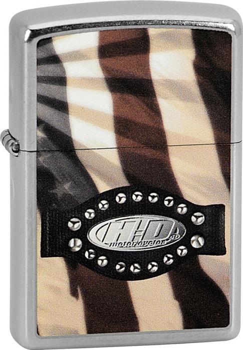 Benzínový zapalovač Zippo Harley-Davidson® 25316 (Benzín Zdarma)