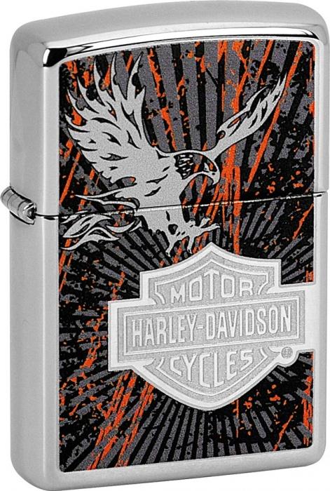 Benzínový zapalovač Zippo Harley-Davidson® 22790 (Benzín Zdarma)