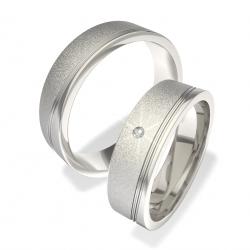 Luxusní Ocelové snubní prsteny Moye-0140202156