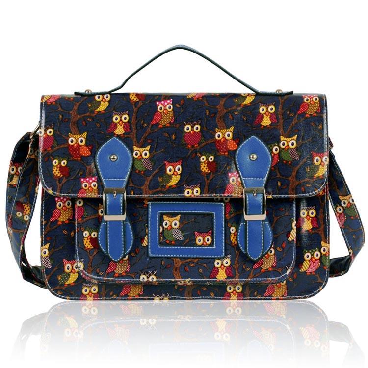 Kabelka LS fashion LS00226D - Modrá