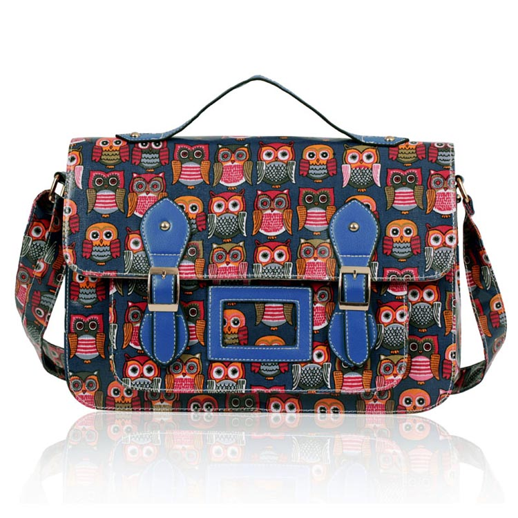 Kabelka LS fashion LS00226B - Modrá