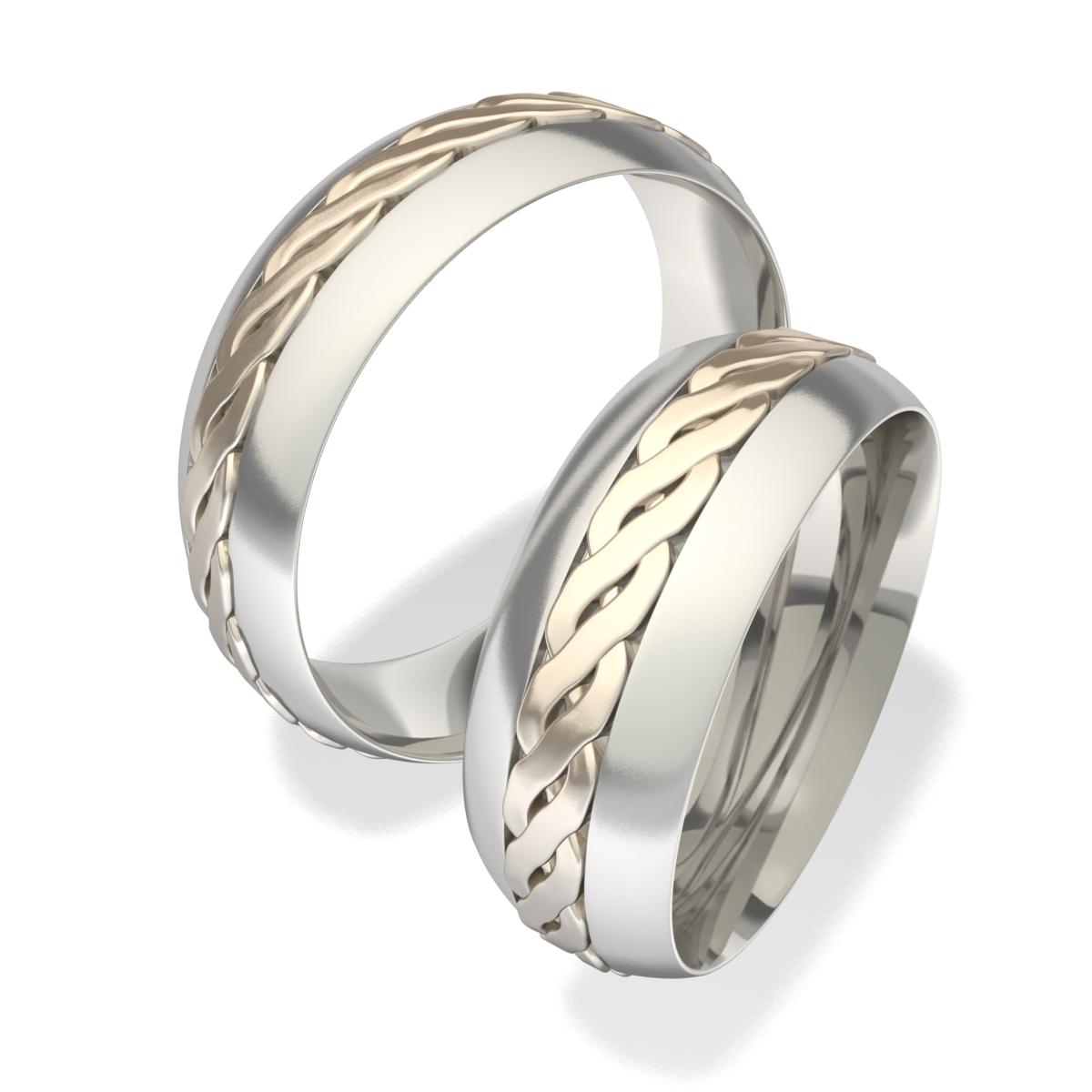 Luxusní Ocelové snubní prsteny 7021 (Luxusní Ocelové snubní prsteny 7021)