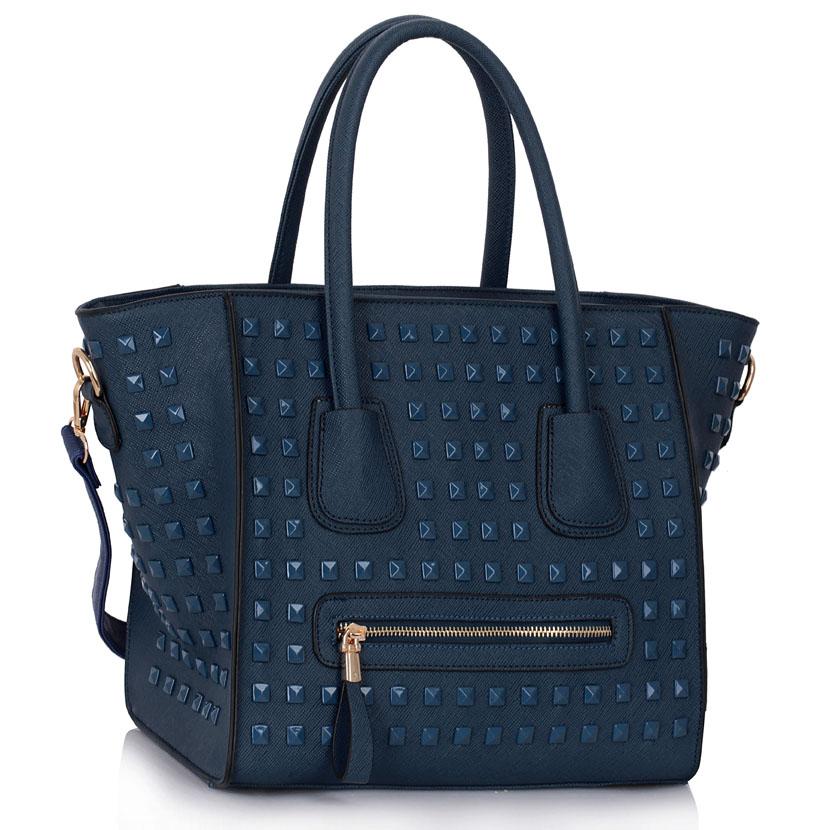 Kabelka LS fashion LS00288 - modrá