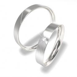Snubní prsteny z chirurgické oceli 0140202073