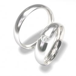 Luxusní Ocelové snubní prsteny 0140202037 (Luxusní Ocelové snubní prsteny 0140202037)
