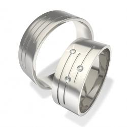 Luxusní Ocelové snubní prsteny 0140202017 (Luxusní Ocelové snubní prsteny 0140202017)