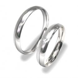 Luxusní Ocelové snubní prsteny 0140202004 (Luxusní Ocelové snubní prsteny 0140202004)