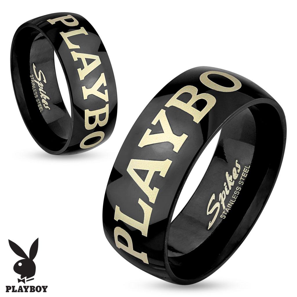Snubní prsteny Playboy z chirurgické oceli PBSR-001