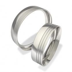 Snubní prsteny chirurgická ocel 0140200076