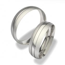 Snubní prsteny chirurgická ocel 0140200072