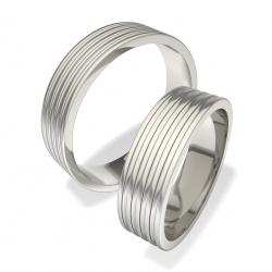 Snubní prsteny z chirurgické oceli 0140200075