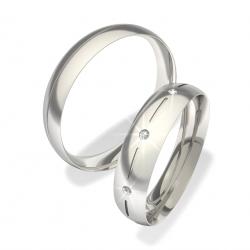 Luxusní Ocelové snubní prsteny 0140101079 (Luxusní Ocelové snubní prsteny 0140101079)