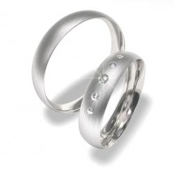 Luxusní Ocelové snubní prsteny 0140200023 (Luxusní Ocelové snubní prsteny 0140200023)