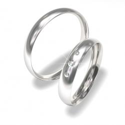 Luxusní Ocelové snubní prsteny 0140200022 (Luxusní Ocelové snubní prsteny 0140200022)