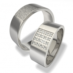 Luxusní Ocelové snubní prsteny 0140200017 (Luxusní Ocelové snubní prsteny 0140200017)