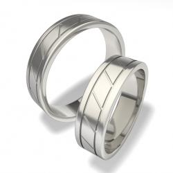 Luxusní Ocelové snubní prsteny 0140101097 (Luxusní Ocelové snubní prsteny 0140101097)