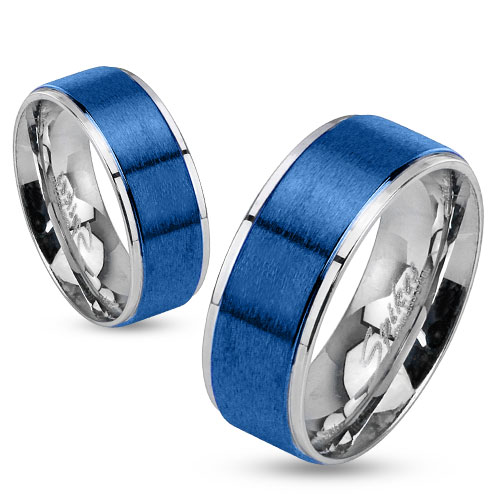 Snubní prsteny chirurgická ocel 1 pár HWRM0026
