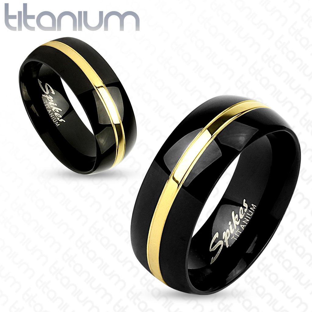 Snubní titanové prsteny R-TI-4393