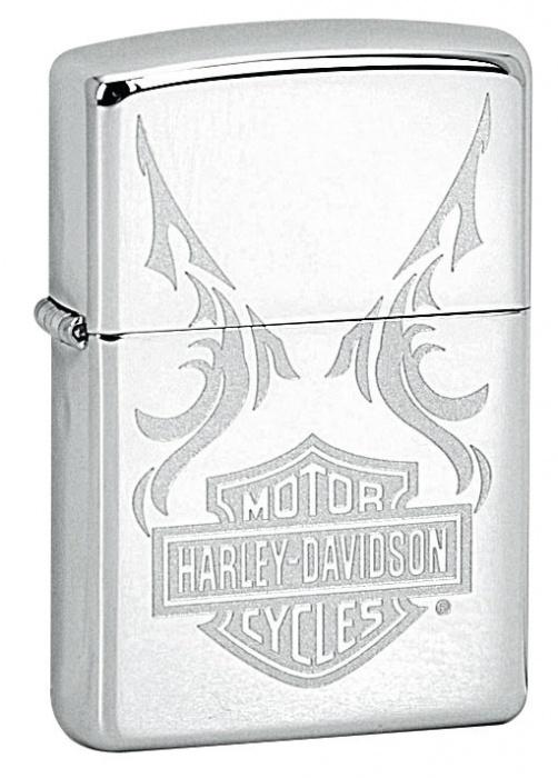 Benzínový zapalovač Zippo Harley-Davidson® 22683 (Benzín Zdarma)