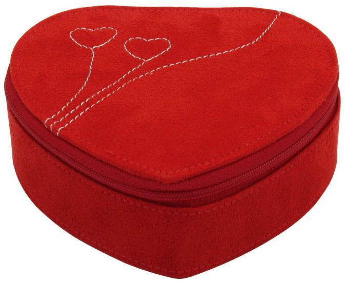 Šperkovnice Friedrich Lederwaren 20091-4 Srdce