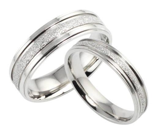 Snubní prsteny chirurgická ocel R-M4040