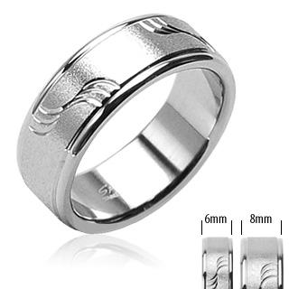 Ocelové snubní prsteny PNS-0015 (Ocelové snubní prsteny PNS-0015)