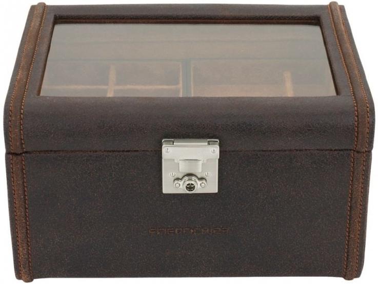 Kazeta na hodinky Friedrich Lederwaren Cubano 27025-3