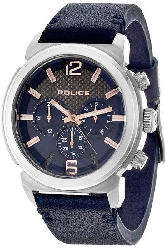 Pánské hodinky POLICE PL14377JS/03 (Dárek -USB Flash disk 8 GB Zdarma)