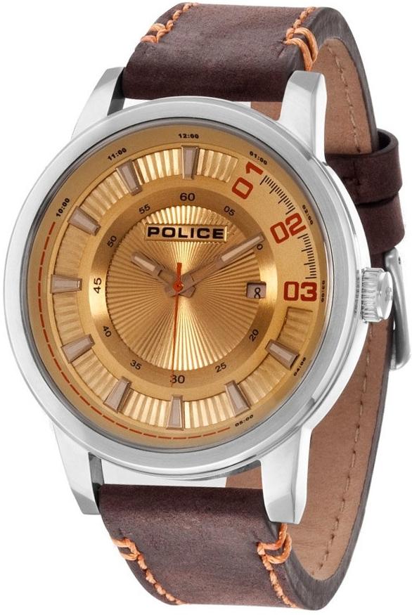 Pánské hodinky POLICE PL14375JS/07 (Dárek -USB Flash disk 8 GB Zdarma)