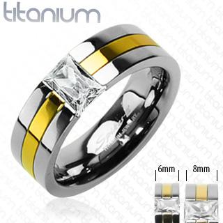 Titanové snubní prsteny PNT-0022 (Titanové snubní prsteny PNT-0022)