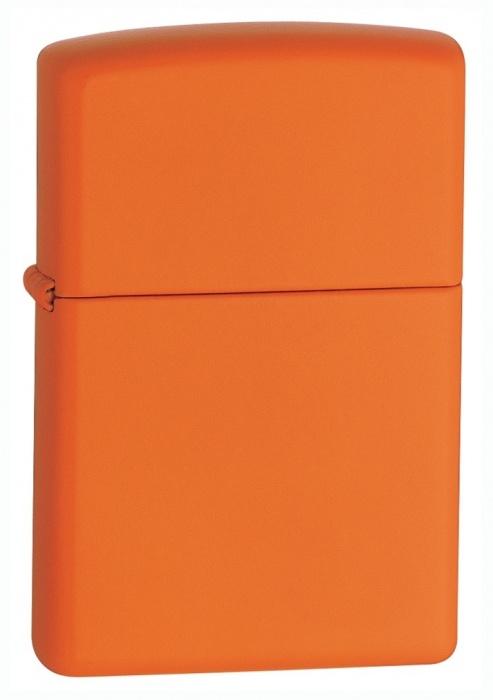 Benzínový zapalovač Zippo Orange Matte 26347 (Benzín Zdarma)