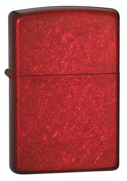 Benzínový zapalovač Zippo Candy Apple Red™ 26184 (Benzín Zdarma)