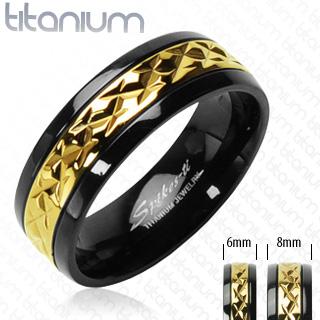 Titanové snubní prsteny PNT-0030 (Titanové snubní prsteny PNT-0030)