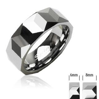 Wolframové snubní prsteny PNW-0002