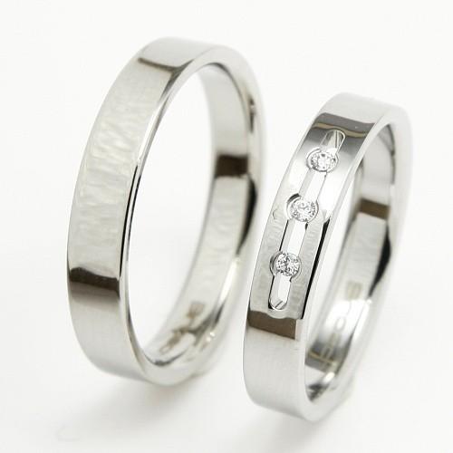 Ocelové snubní prsteny TBR07BR13 (Ocelové snubní prsteny TBR07BR13)