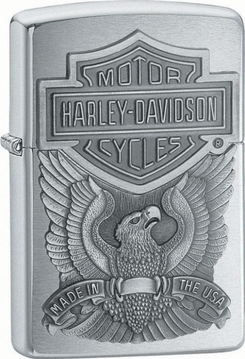 Benzínový zapalovač Zippo Harley-Davidson® 21578 (Benzín Zdarma)